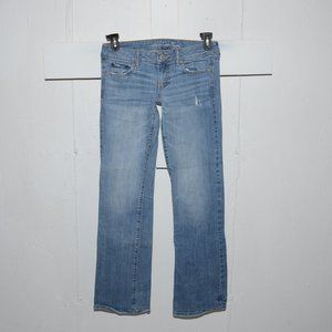 American eagle fav boyfriend womens jeans size 4 L